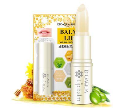 Купить Бальзам для губ с медом для увлажнения и питания со скидкой в онлайн-магазине Mefora.ru