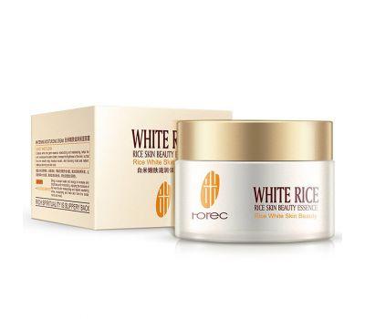 Увлажняющий крем для лица с белым рисом Rorec