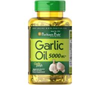 PURITANS PRIDE GARLIC OIL – МАСЛО ЧЕСНОКА