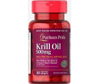 PURITANS PRIDE  RED KRILL OIL - МАСЛО КРИЛЯ