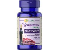PURITANS PRIDE RESVERATROL,100 mg