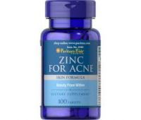 PURITANS PRIDE ZINC FOR ACNE