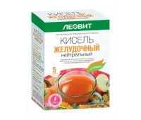 Кисель Желудочный нейтральный. 5 пакетов по 20 г. Упаковка 100 г