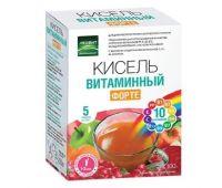 Кисель Витаминный ФОРТЕ. 5 пакетов по 20 г. Упаковка 100 г