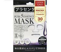 Japan Gals Маска с плацентой Pure5 Essential 30 шт